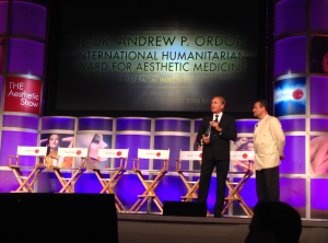 Congratulations to my friend and colleague, Dr. Andrew Ordon for his International Humanitarian Award.