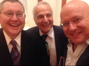 A fun post award show selfie with Dr. Murad and Dr. Weschler.